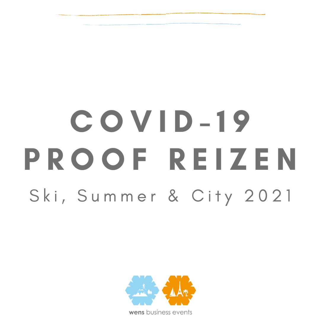 COVID-19 proof bedrijfsreis